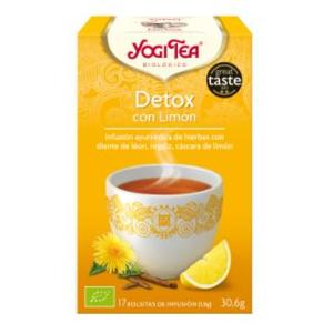 YOGI TEA DETOX CON LIMON 17 infusiones