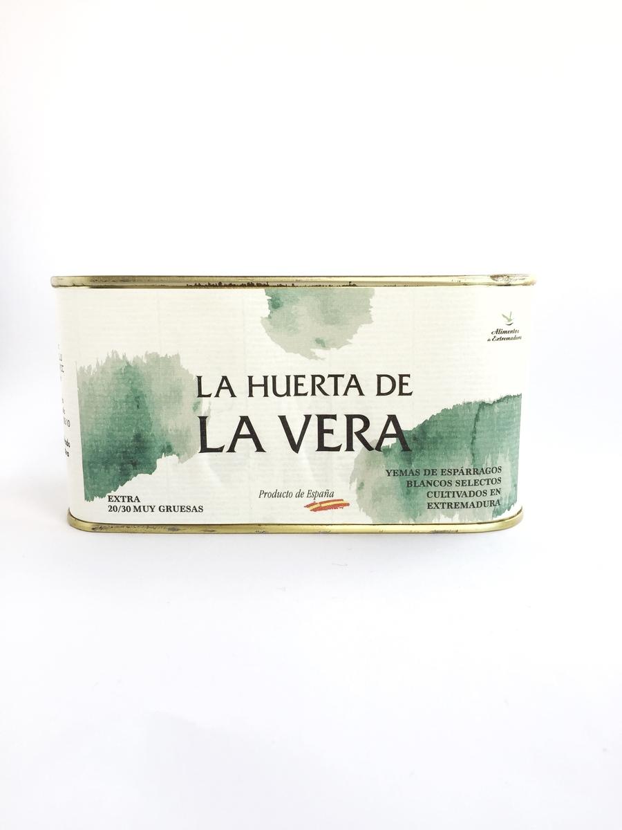 Yemas de espárragos extra 20/30 La Huerta de la Vera