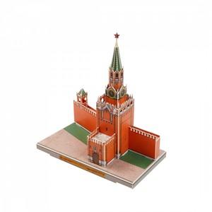 Torre Spasskaya, Puzzle de Cartón para montar. Marca Clever Paper, Ref: 14487.