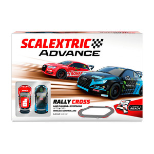 Rally Cross ( Avance ), Escala 1/32. Marca Scalextric, Ref: E10328S500.