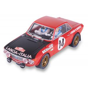 """Lancia Fulvia 1.6 HF """" Munari Mannucci """", Escala 1/32 . Marca Scalextric, Ref: U10247S300."""