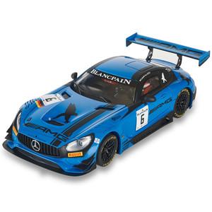 """Mercedes AMG GT3 """" Black Falcon """", Escala 1/32. Marca Scalextric, Ref: U10278S300."""