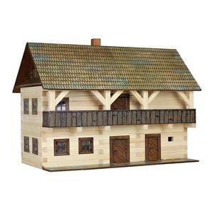 Municipio, Kit de montaje en Madera de Pino. Marca Walachia, Ref: 1305.