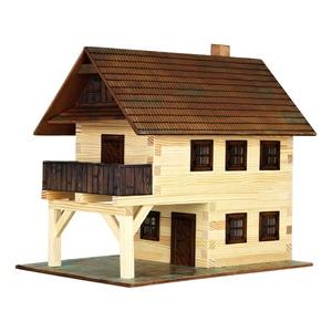 Ayuntamiento, Kit de montaje en Madera de Pino. Marca Walachia, Ref: 1314.