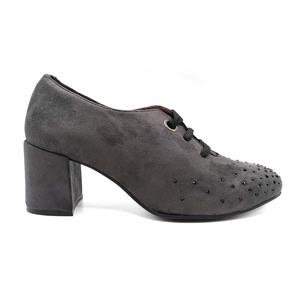 Zapato con cordón Desireé Gris