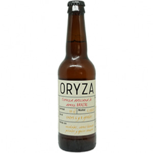 Cerveza artesana Oryza Brazal