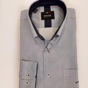Camisa  estampada puntos azules