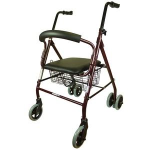 Andador rollator de 4 ruedas