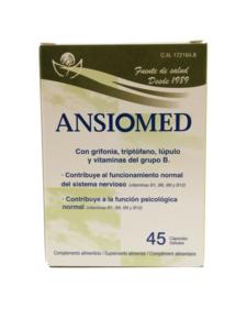 Ansiomed, 45 cápsulas  ( Lab. Bioserum)