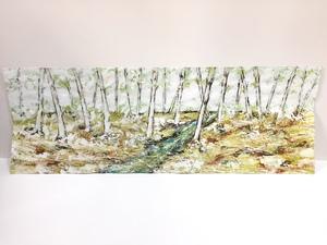 Lamina o cuadro acrílico Bosque. Version 2. Autor: Goloviarte
