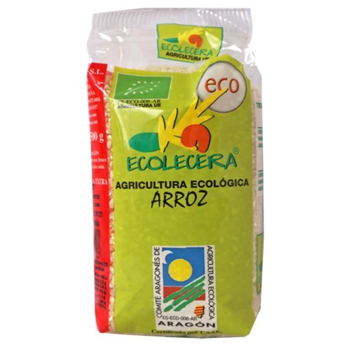 Arroz Blanco 500G Ecológico. Ecolécera