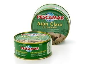 Lata Atún Claro - Pescamar en Escabeche. 270 g