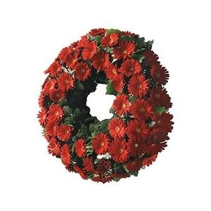 Aureola corona fúnebre