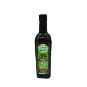 Aceite de oliva virgen extra arbequina Biocop, 750 ml