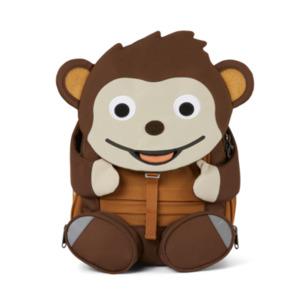 Mochila infantil Affenzahn Mono 3-6 años marrón