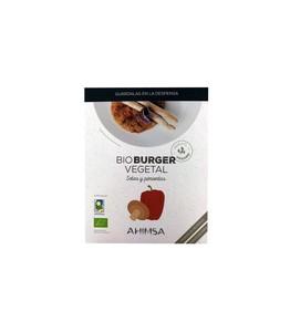 Bio Burger Vegetal Setas y Pimientos 2X80g - Ahimsa