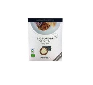 Bio Burger Vegetal Tofu Algas 2X80g - Ahimsa