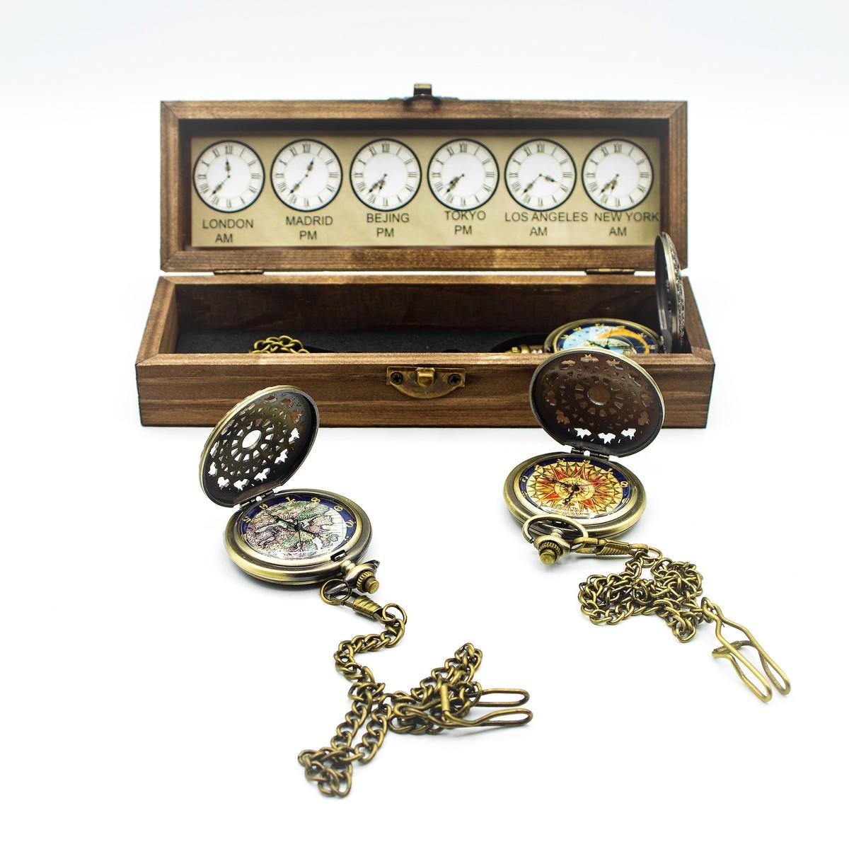 Reloj de bolsillo de cuarzo