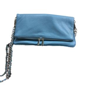 Bolso Azul con Correa de Cadenas - Catalina