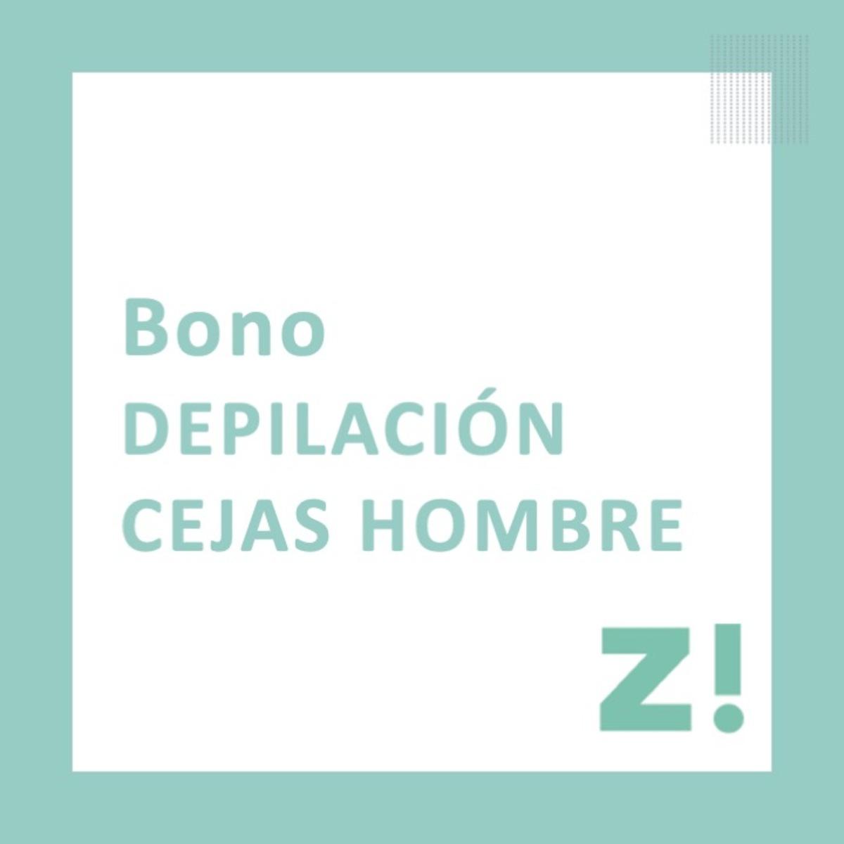 Bono depilación cejas PARA CANJEAR EN PASSARÓ PLAZA SAN BRIZ
