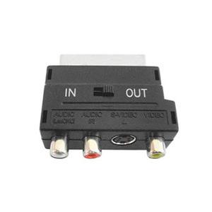 adaptador RCA/S-video a Euroconector