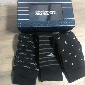 Pack 3 calcetines ARMANI estuche de lujo