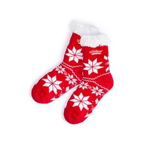 Calcetines antideslizantes navideños