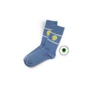 Calcetines Retro Tenis Azules