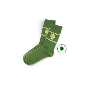 Calcetines Retro Tenis Verdes