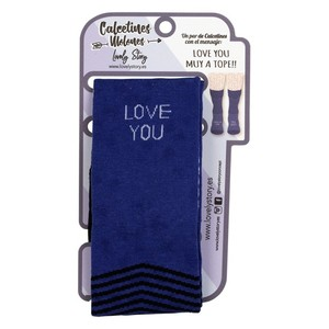 CALCETINES PARA HOMBRE (T40-44) – LOVE YOU A TOPE