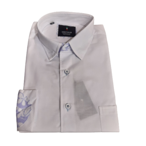Camisa blanca codera