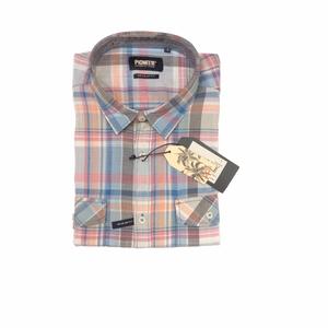 Camisa de hombre manga corta