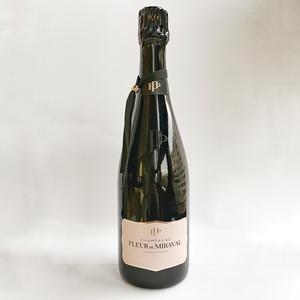 Champagne Fleur de Miraval rosé, 1ª edición y limitada en estuche de regalo