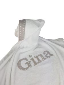 Capa de Baño Personalizada para Bebés