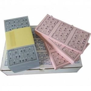 Cartones de bingo (11x19,5 cm)
