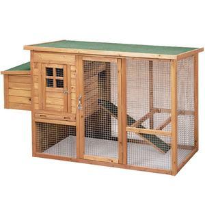 Caseta de madera  modeol Lyon - animales de granja