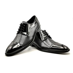 Zapato Charol Placado Negro