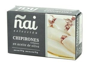 Chipirones Rellenos en Aceite de Oliva - Ñai - 111g