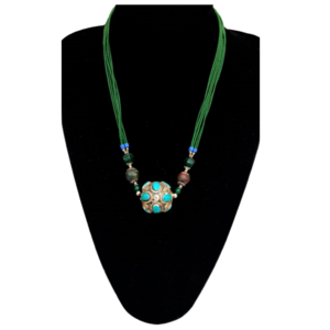 Collar de Jade y Turquesas