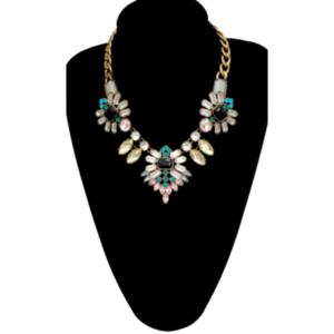 Collar Multicolor de Cristales