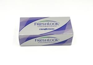 Lentes de contacto color AZUL Freshlook colorblends mensuales