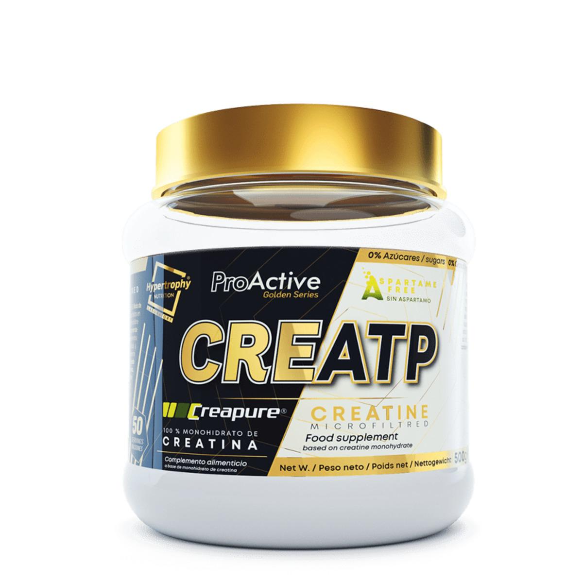 CREATP CREATINA CREAPURE 500G - Hyperotrophy Nutrition