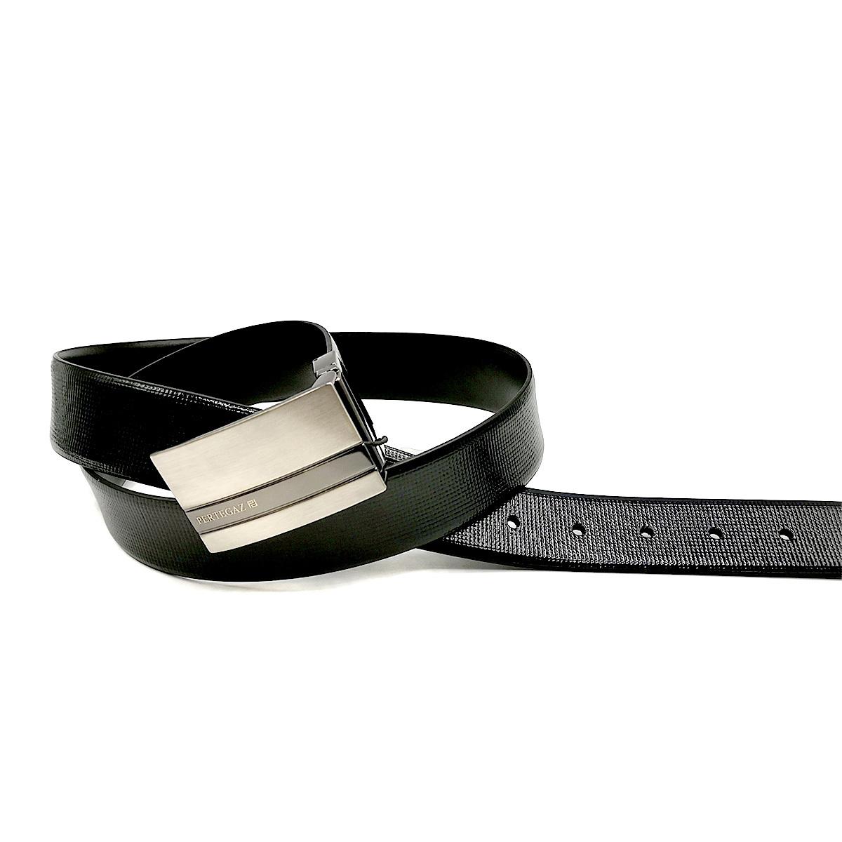 Cinturón Charol piel reversible PERTEGAZ