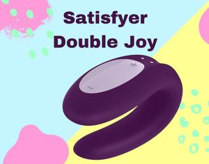 SATISFYER DOUBLE JOY MORADO + APP
