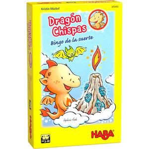 Dragón Chispas Bingo de la suerte - Juego de mesa - HABA