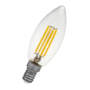 Bombilla Vela LED E14 4 Watios 2700ºk Blanco Calido