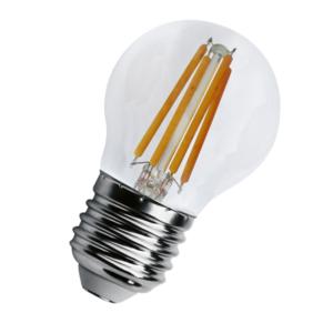 Bombilla Esférica LED E27 4 Watios 2700ºk Blanco Cálido