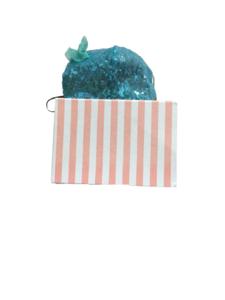 Mascarilla de Tela Reutilizable -  Enriqueta azul claro