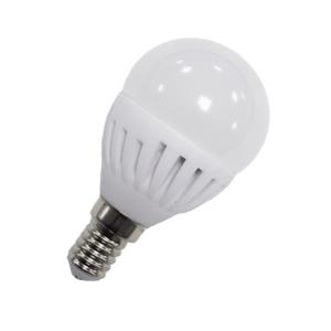 Bombilla Esférica Cerámica LED E14 9 Watios