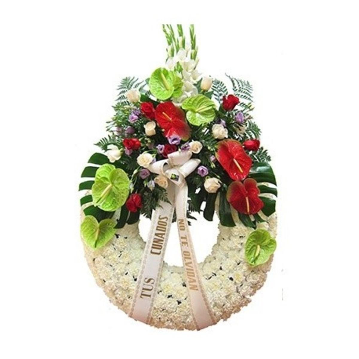 Eternidad corona fúnebre